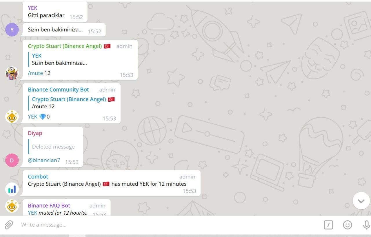 Binance Telegram