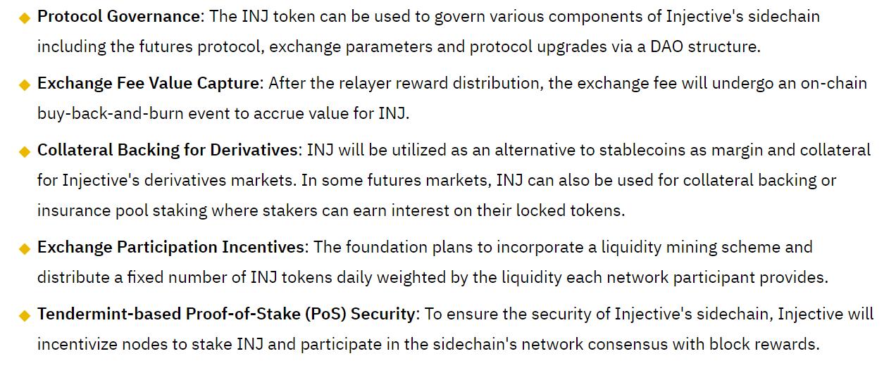 Binance Research Take on INJ Token