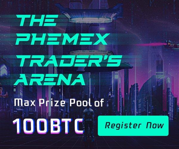 Phemex traders arena 100btc