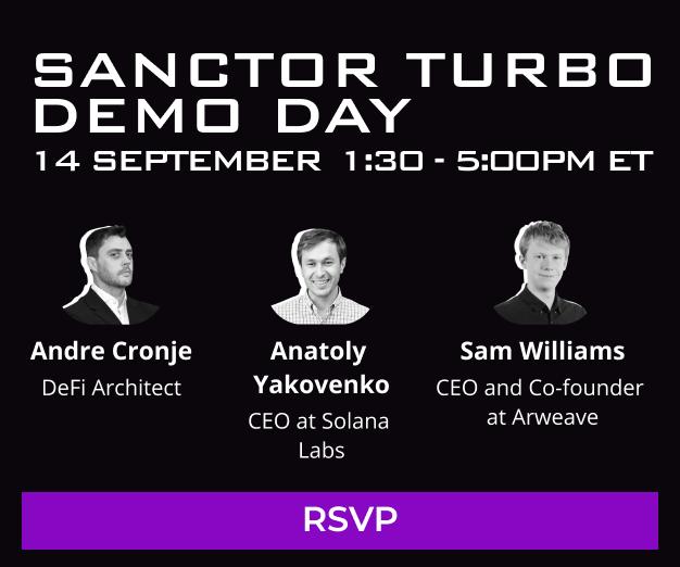 Sanctor Turbo Demo Day